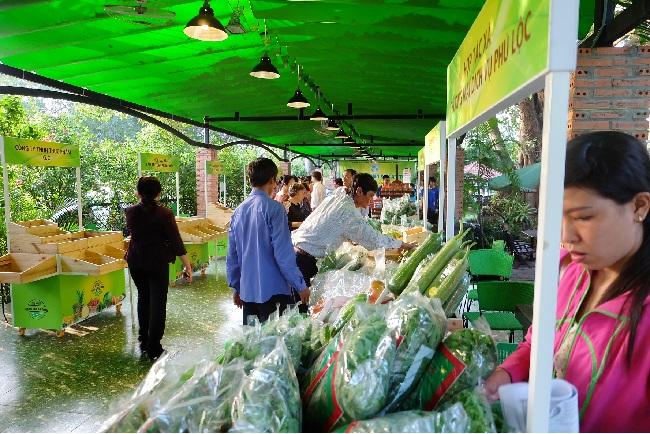 Landwirtschaftliche Markttage in Ho Chi Minh Stadt