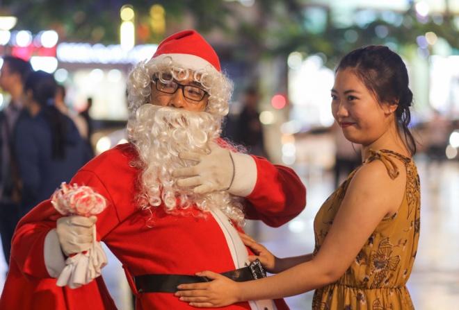 Weihnachtsstimmung in Saigon