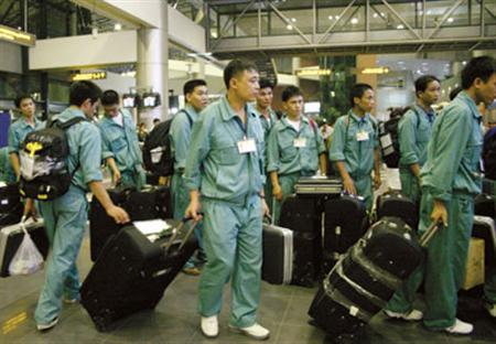 Vietnam wird 105.000 Arbeiter ins Ausland schicken