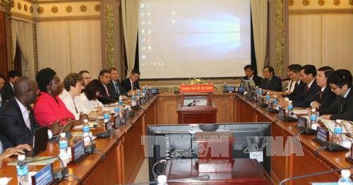 Verbesserung der Lebensqualität der Einwohner in Ho-Chi-Minh-Stadt