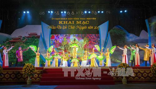 Eröffnung der Tourismussaison 2017 in Thai Nguyen