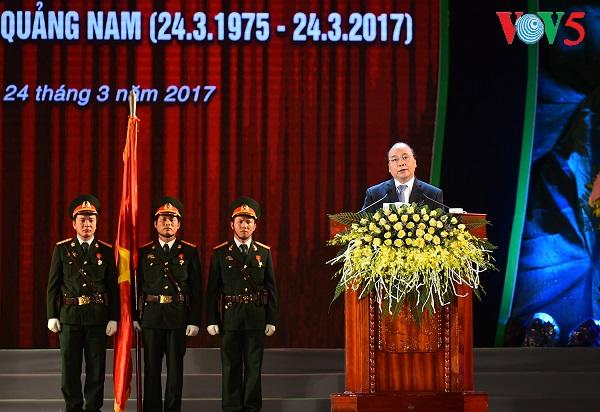 Quang Nam feiert 20. Jahrestag der Wiedergründung