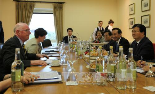 Vietnam will die umfassenden Beziehungen mit Irland verstärken
