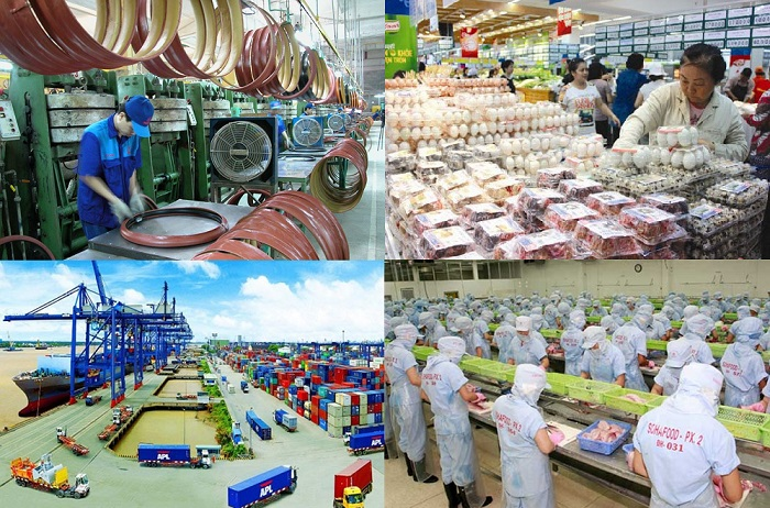 Tahun 2016, ekonomi Vietnam dipertahankan pada tarap pertumbuhan yang lumayan dan stabil