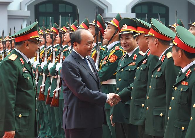 PM Nguyen Xuan Phuc melakukan kunjungan kerja di Direktorat Jenderal Intelijen Pertahanan