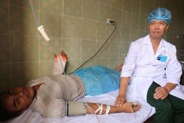 Kisah-kisah tentang para dokter militer di kabupaten pulau Truong Sa