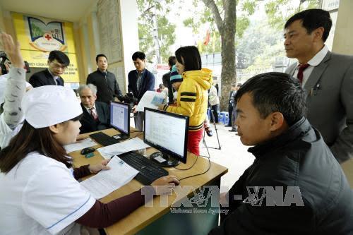 Kota Hanoi menggelarkan dokumen manajemen medis elektronik untuk warga
