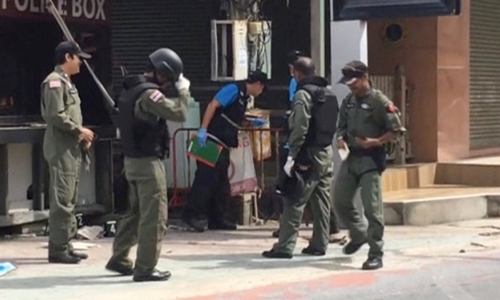 Thai police link southern bombings to Muslim insurgency