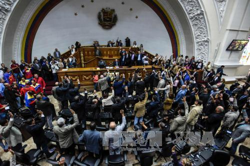 Venezuela President accuses lawmakers of attempted parliamentary coup