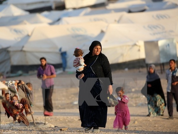 125,000 people displaced in Mosul