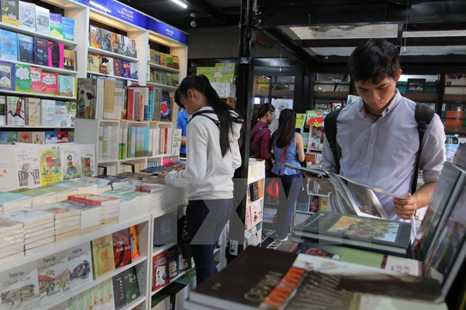 Ho Chi Minh prepares for spring book street