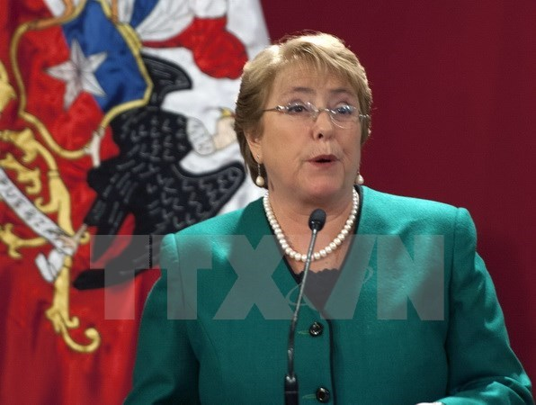 Chile's president vows to fight for Asia-Pacific trade deal