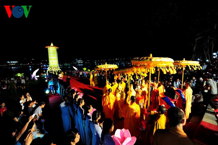 Giáo hội Phật giáo thực hiện lễ hội Quảng Chiếu tại Festival Huế