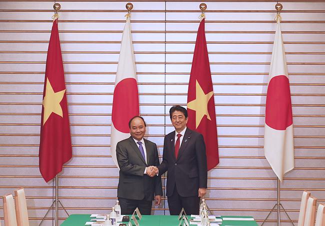 Việt Nam và Nhật Bản nhất trí tăng cường hợp tác trên nhiều lĩnh vực