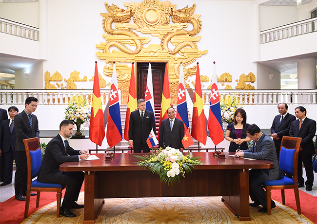 Việt Nam và Slovakia thúc đẩy hợp tác song phương