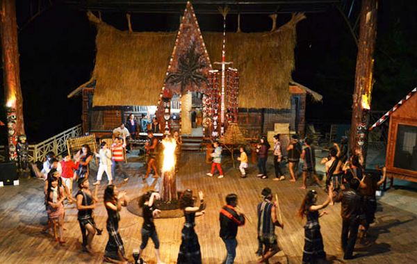 Múa dân gian truyền thống của người K'Ho