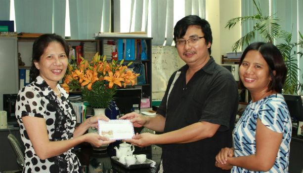 Hội Vườn Việt ở Châu Âu ủng hộ đồng bào bị lũ lụt ở miền Trung