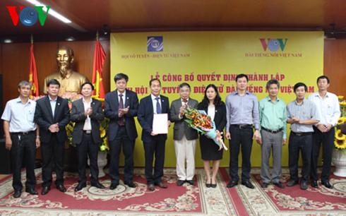 Thành lập Chi hội Vô tuyến - Điện tử Đài Tiếng nói Việt Nam