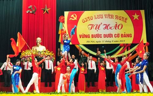 Xây dựng Đảng gắn với học tập tư tưởng, đạo đức, phong cách Hồ Chí Minh
