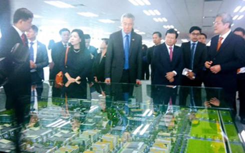Thủ tướng Singapore dự lễ khánh thành Tòa nhà Mapletree Business Centre tại Thành phố Hồ Chí Minh