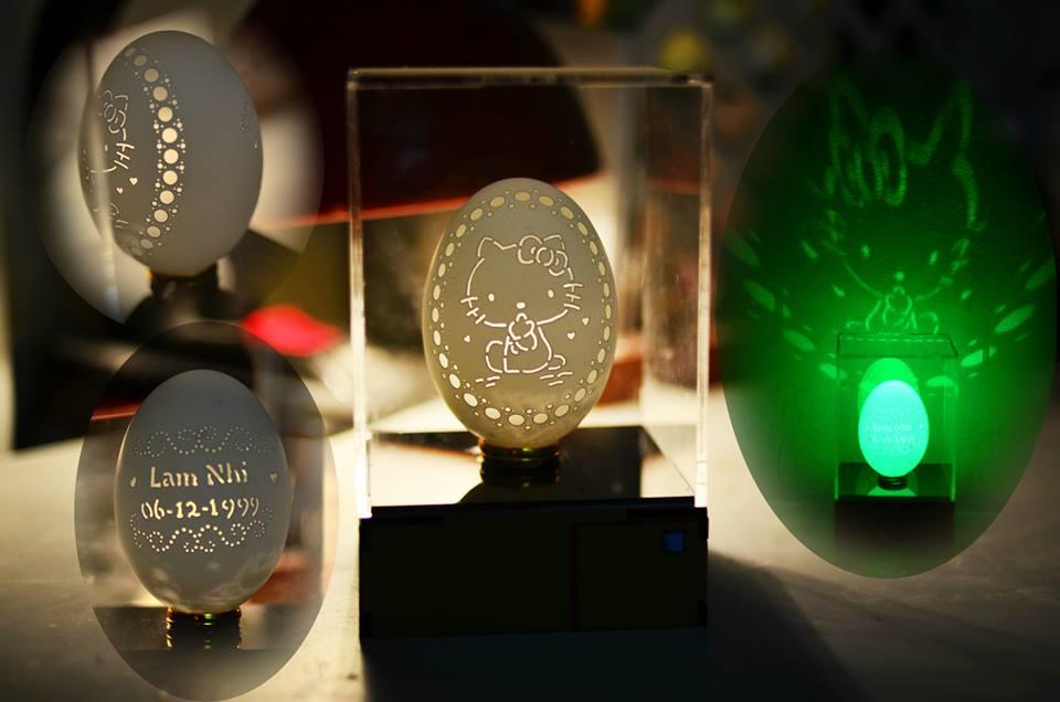 Nghệ thuật khắc trứng