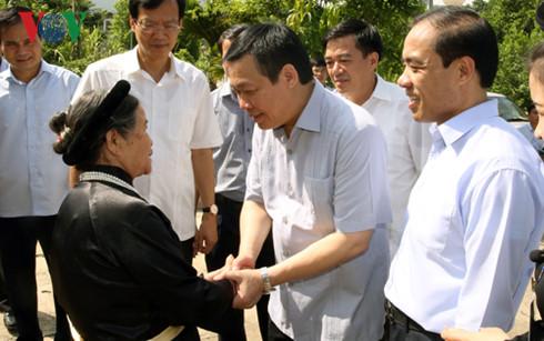 Phó Thủ tướng Vương Đình Huệ làm việc tại tỉnh Tuyên Quang