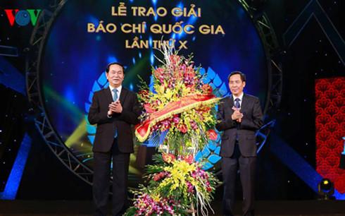 Chủ tịch nước Trần Đại Quang: Tiếp tục phát huy sức mạnh của báo chí cách mạng Việt Nam