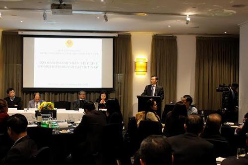 Tạo điều kiện kinh doanh và đầu tư tại Việt Nam cho cộng đồng người Việt ở Australia