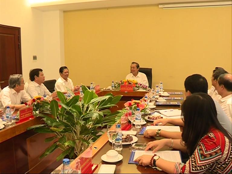 Phó Thủ tướng Chính phủ Trương Hòa Bình làm việc tại tỉnh Quảng Ngãi