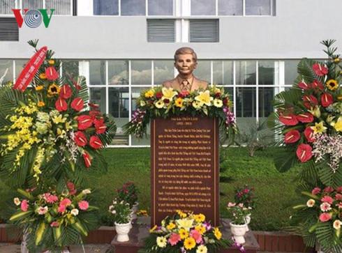 Khánh thành tượng Nhà báo Trần Lâm tại trường Cao đẳng Phát thanh - Truyền hình II