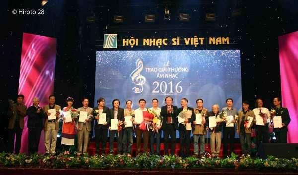Giải thưởng Hội Nhạc sĩ Việt Nam 2016