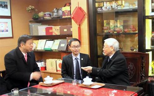 Tổng Bí thư Nguyễn Phú Trọng thăm tỉnh Chiết Giang, Trung Quốc