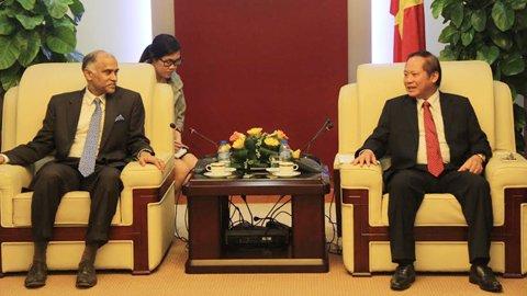 Việt Nam và Ấn Độ tăng cường hợp tác công nghệ thông tin và bưu chính viễn thông