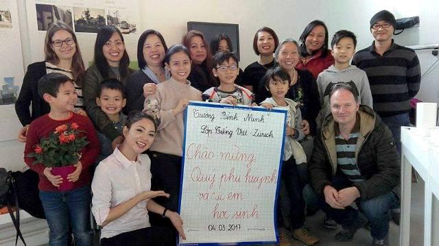 Khai giảng lớp tiếng Việt tại Zurich - Thụy Sĩ