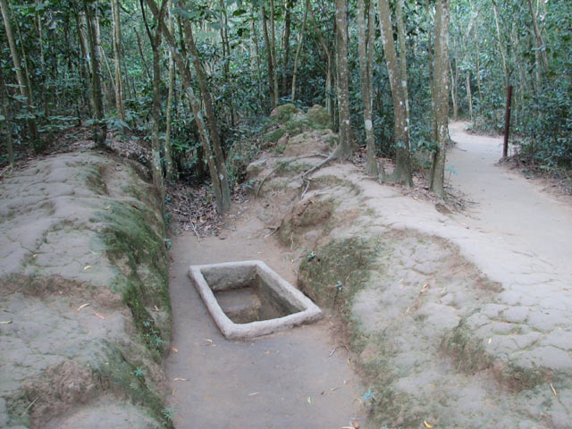 Cu Chi tunnel, a symbol of Vietnamese staunch spirit