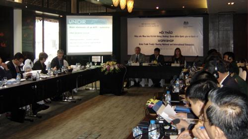 Vietnam supports international efforts to achieve  disarmament