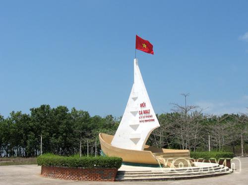 Cape Ca Mau- a sacred spot for Vietnamese people