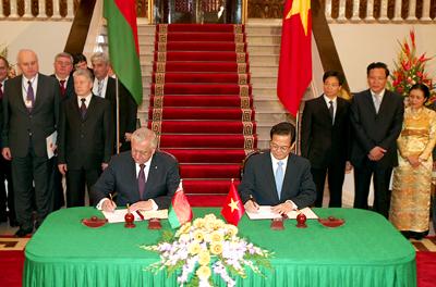 Vietnam and Belarus foster closer ties