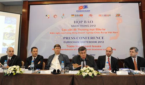EuroCham launches White Book on Vietnam's business environment