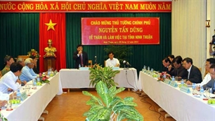 PM: Ninh Thuan has potential in energy, tourism, agriculture and seafood