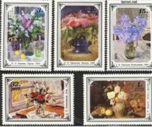 Stamp market in Hanoi