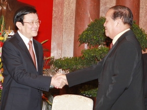 President stresses significance of Vietnam-Lao friendship year