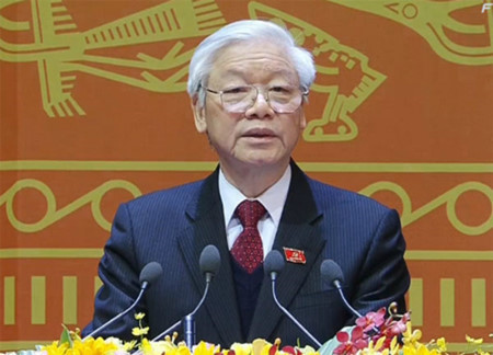 Party leader: Vietnam determined to maintain peaceful environment for development