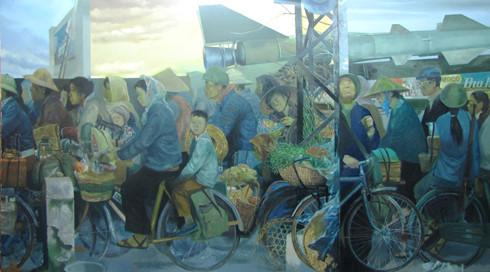 Fine-art exhibition on 30 years of Vietnam's renewal