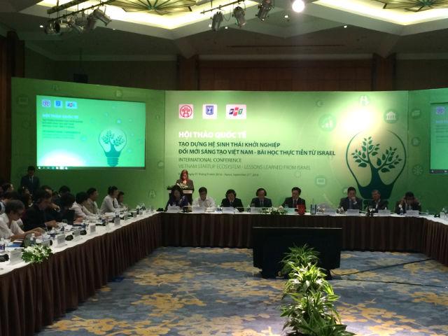 Building up start-up innovation ecosystem in Vietnam