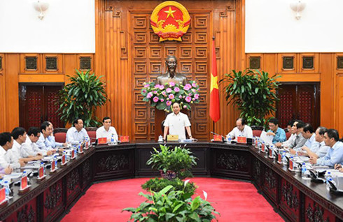 Prime Minister works with leaders from Quang Nam, Da Nang