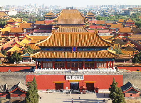 China refurbishes Forbidden City walls