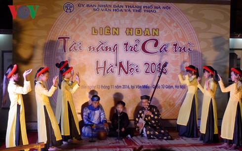 Hanoi promotes Ca tru performances