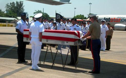 Repatriating remains of US servicemen