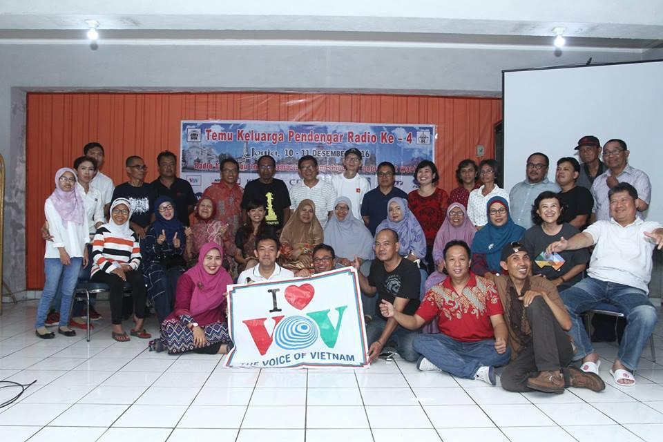 Get-together of Indonesian radio fans in Yogyakarta